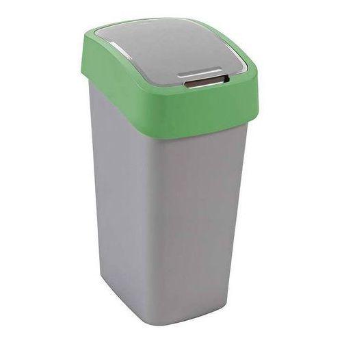 Kosz na śmieci CURVER 02170-P80-00 10 L Szaro-zielony, 170079_CURVER