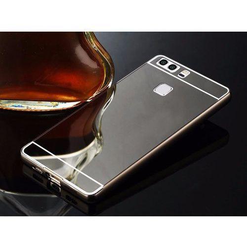 Mirror Bumper Metal Case Czarny | Etui dla Huawei P9 - Czarny