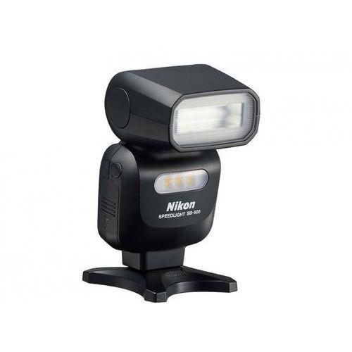 Nikon Lampa błyskowa sb-500 czarny darmowy transport