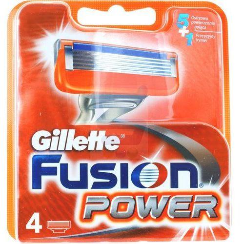 Gillette  fusion power wkład do maszynki do golenia 4 szt.