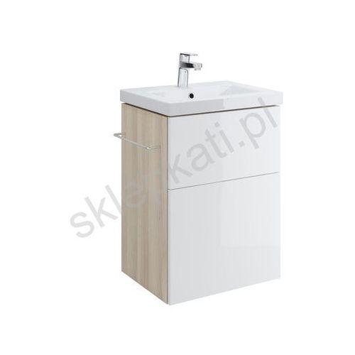 CERSANIT SMART Szafka podumywalkowa 50, front biały S568-016, kolor biały