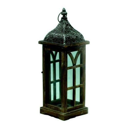 Latarnia drewniana Orient 50 cm (5901272663366)