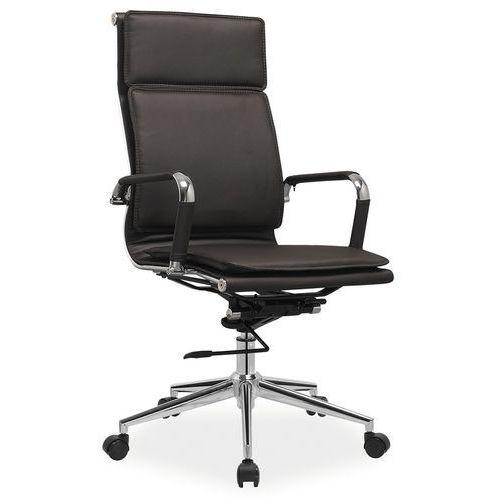Fotel biurowy Q-253 brązowy, 5779