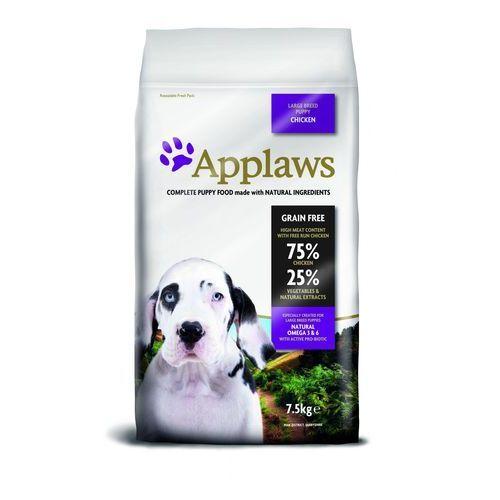Applaws Dwupak - puppy large breed, kurczak, 2 x 15 kg (5060333439330)