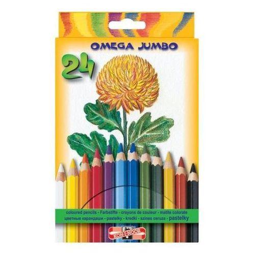 Kredki ołówkowe Koh-I-Noor Jumbo 3374 24kol.