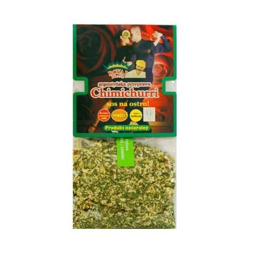 Chimichurri, przyprawa argentyńska, sos 50 g marki Royal brand