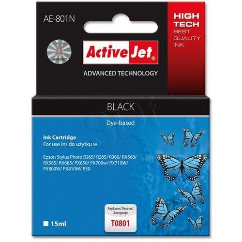 Tusz ActiveJet AE-801N (AE-801) Czarny do drukarki Epson - zamiennik Epson T0801