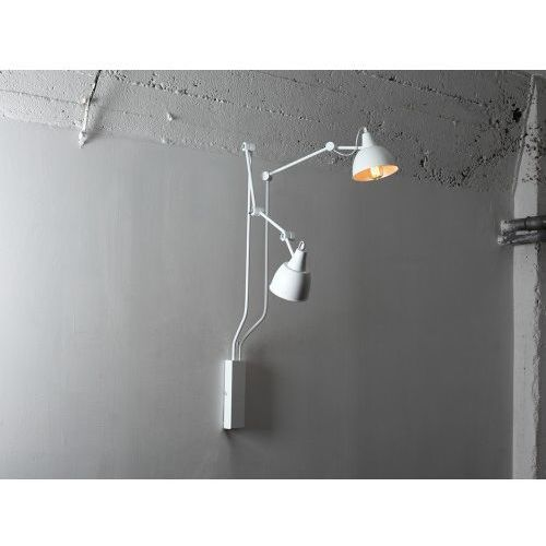 Customform Lampa ścienna regulowana coben wall 2 - biały