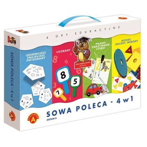 Alexander Sowa mądra głowa poleca 4w1 zestaw d (5906018017175)
