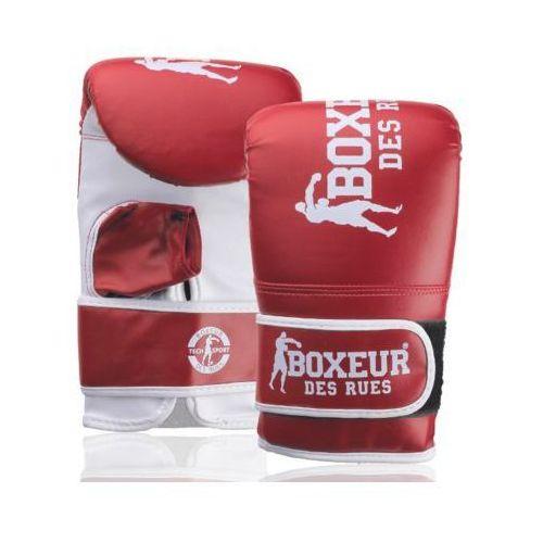 Boxeur Rękawice bokserskie bxt-5140 (rozmiar l) czerwono-biały