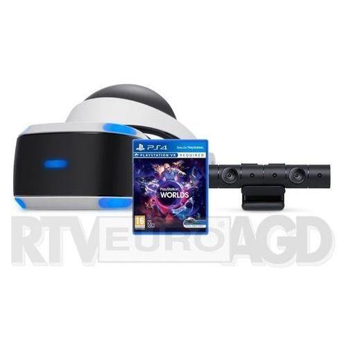 Sony PlayStation VR + PlayStation 4 Camera v2 + VR Worlds - produkt w magazynie - szybka wysyłka! (0000001122361)