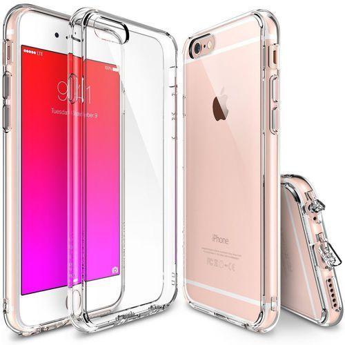 Etui fusion iphone 6 4,7 crystal view + folia marki Rearth ringke