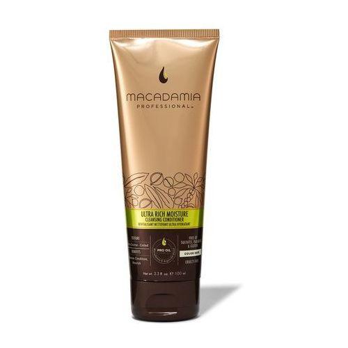 Macadamia  ultra rich cleansing conditioner | nawilżająca odżywka myjąca do włosów grubych 100ml