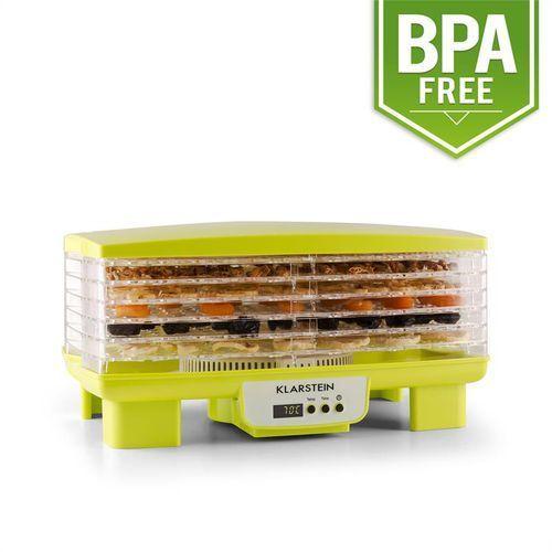 Klarstein Bananarama suszarka do produktów spożywczych 550W dehydrator zielona