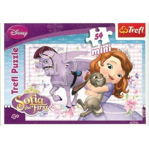 Puzzle 54 mini księżniczka zosia 1 marki Trefl