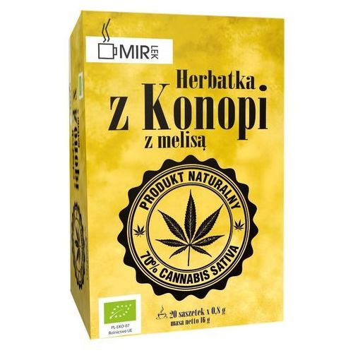 Herbata z konopi z melisą 20x0,8g (5908228098777)