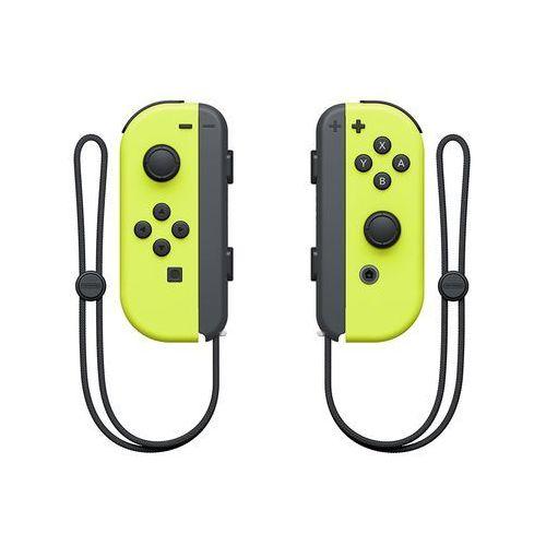 kontrolery switch joy-con, żółte marki Nintendo