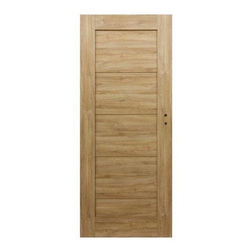 Drzwi pełne Borgeno 70 lewe amber (5908443049769)