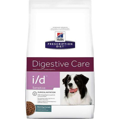 canine vet diet digestive care sensitive i/d 2x12kg dwu-pak marki Hills