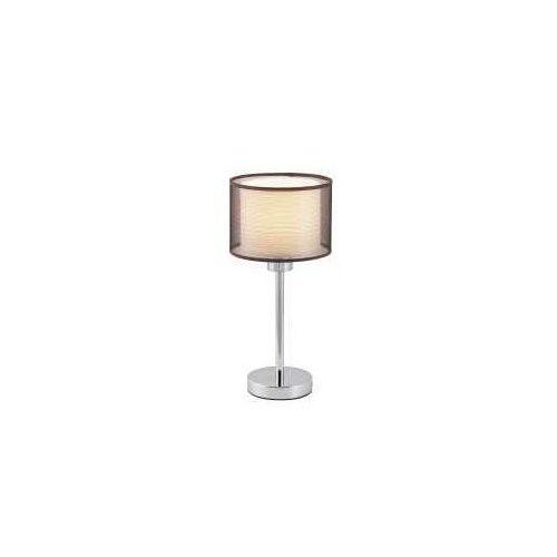 Lampa lampka oprawa stołowa anastasia 1x60w e27 chrom / brązowa 2631 marki Rabalux