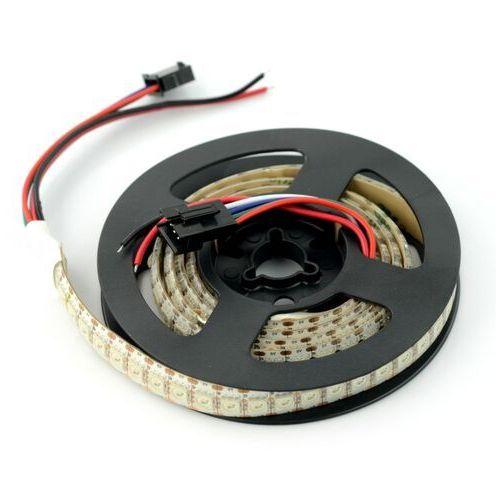 Pasek LED RGB WS2813 - cyfrowy, adresowany - 144 LED/m, 43,2W/m, 5V - 1m, IP65