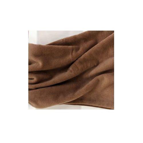 Camel 180x200cm brązowy koc wełniany marki Fotonia