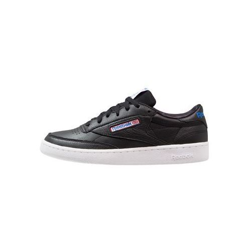 classic club c 85 so tenisówki i trampki black/white/vital blue, Reebok, 40.5-47