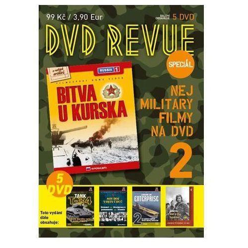 DVD Revue speciál 2 - Nej military filmy na DVD - 5 DVD neuveden