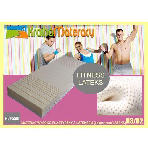 Materac wysokoelastyczny  fitness lateks 200x120 marki Hevea