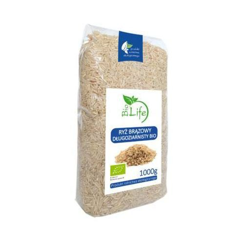 1kg ryż brązowy długoziarnisty bio marki Biolife
