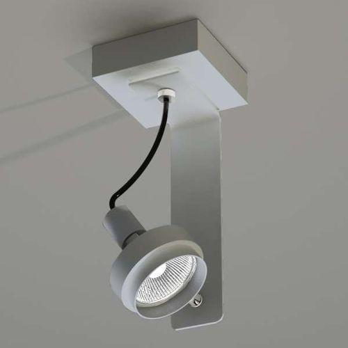Plafon LAMPA sufitowa GERO 2204/GU10/SZ Shilo metalowa OPRAWA natynkowa szary, kolor Szary