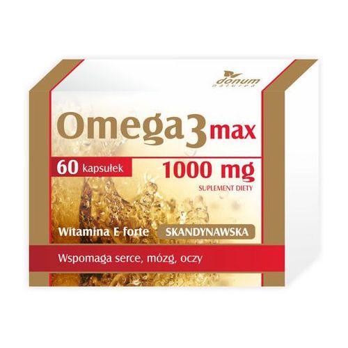 OMEGA-3 Max Skandynawska 1000mg x 60 kapsułek
