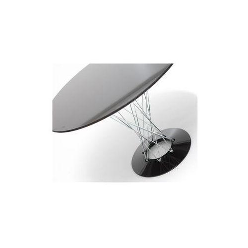 Stół cyklon okrągły, czarny marki D2.design