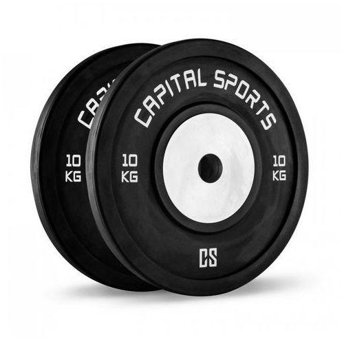 CAPITAL SPORTS Inval Competition Obciążniki Rdzeń aluminiowy para 2 x 10 kg