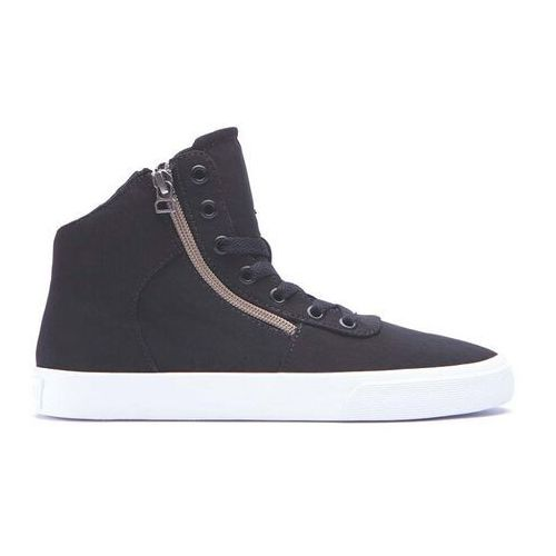 buty SUPRA - Womens Cuttler Black/Crackle-White (BCR)