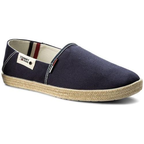 Espadryle TOMMY JEANS - Summer Slip On Shoe EM0EM00027 Ink 006