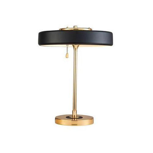 Lampa stołowa chicago 10300220 - czarny, złoty marki Pallero