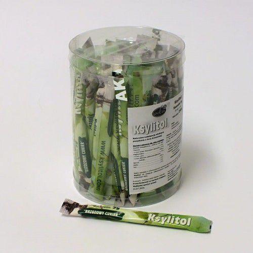 Ksylitol cukier brzozowy w saszetkach 50 x 5 g - naturalna słodycz dla zdrowia (250 g) marki Aka