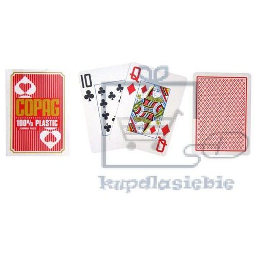OKAZJA - Cartamundi Karty do pokera (5411068400452)