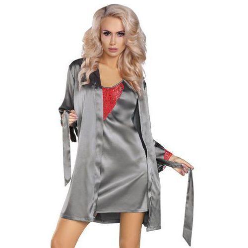Livia Corsetti Platinum-Red Koszulka i szlafrok