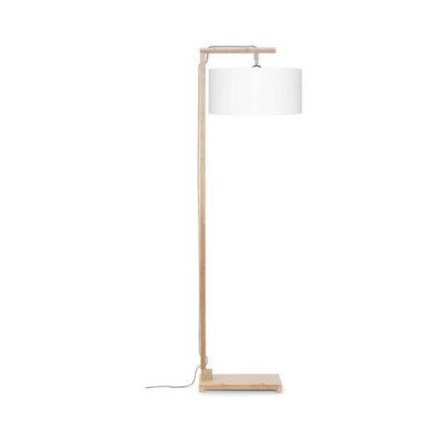 lampa podłogowa himalaya, abażur biały, rozmiar 47x23cm himalaya/f/4723/w marki Good&mojo