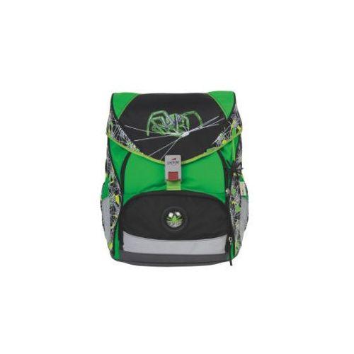 DERDIEDAS Plecak-zestaw ErgoFlex XL - Green Spider, 5-częściowy (4006047706314)