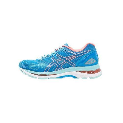 ASICS GELNIMBUS 19 Obuwie do biegania treningowe diva blue/flash coral/aqua splash, T750N