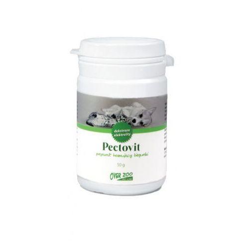 Over zoo vet line pectovit preparat hamujący biegunki pokarmowe 50g