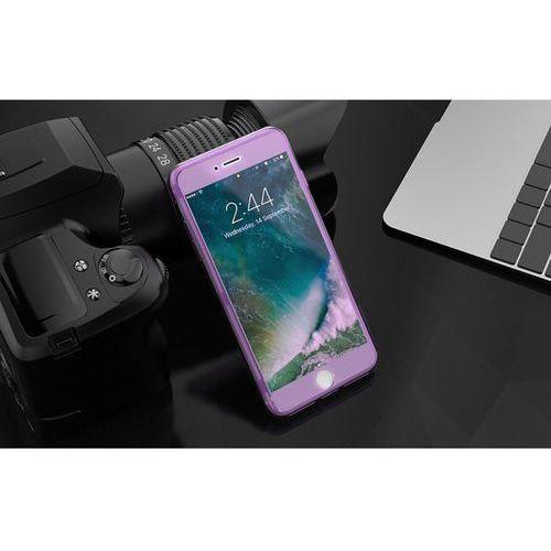 Kisscase przeźroczyste etui silikonowe dla iphone 7 plus i 8 plus (fioletowe) - fioletowy \ iphone 7 plus i 8 plus marki Oficjalna dystrybucja