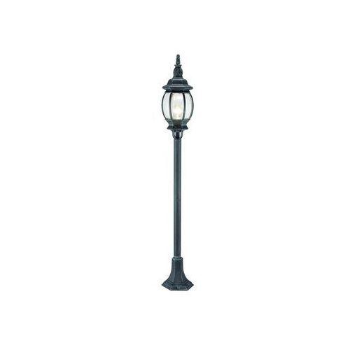 Eglo Lampa stojąca oudoor 4172 classic oprawa zewnętrzna 1x60w e27 czarna/zielona ip44 (9002759417208)