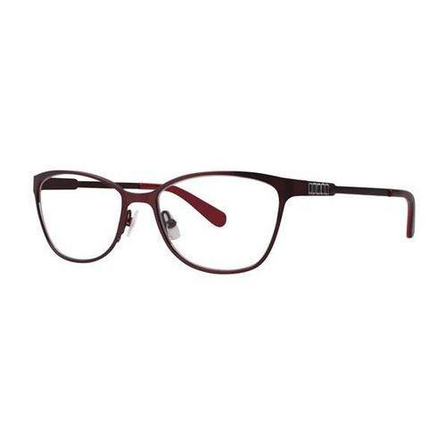 Okulary korekcyjne kalliet burgundy marki Vera wang