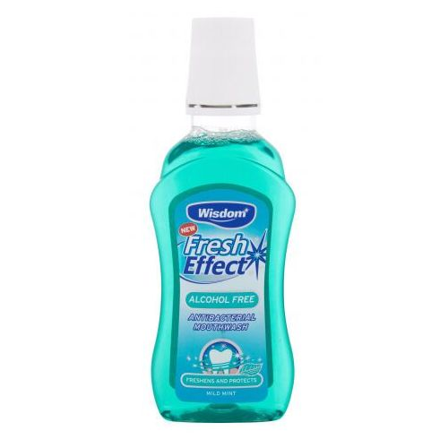 Wisdom fresh effect mild mint płyn do płukania ust 300 ml unisex (5028763010338)