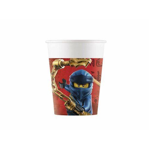 Procos disney Kubeczki urodzinowe lego ninjago - 200 ml - 8 szt. (5201184922408)