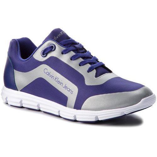 Sneakersy CALVIN KLEIN JEANS - Morris S0502 E-Blue/Silver